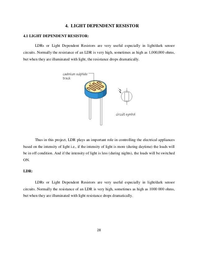 Unique Light Dependant Resistor Crest - Schematic Diagram Series ...