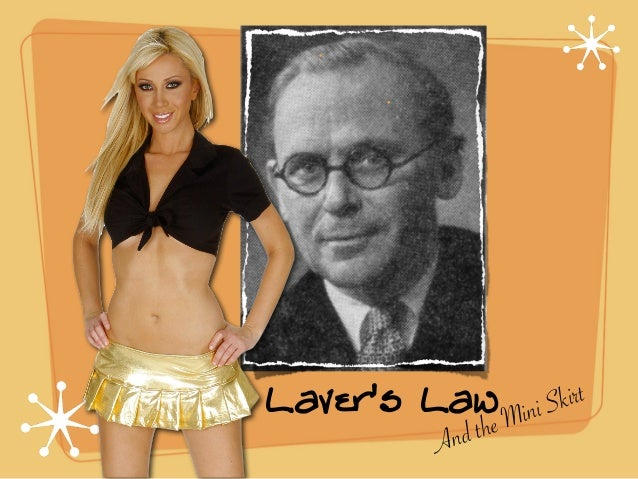 Laver's Law And the Mini Skirt