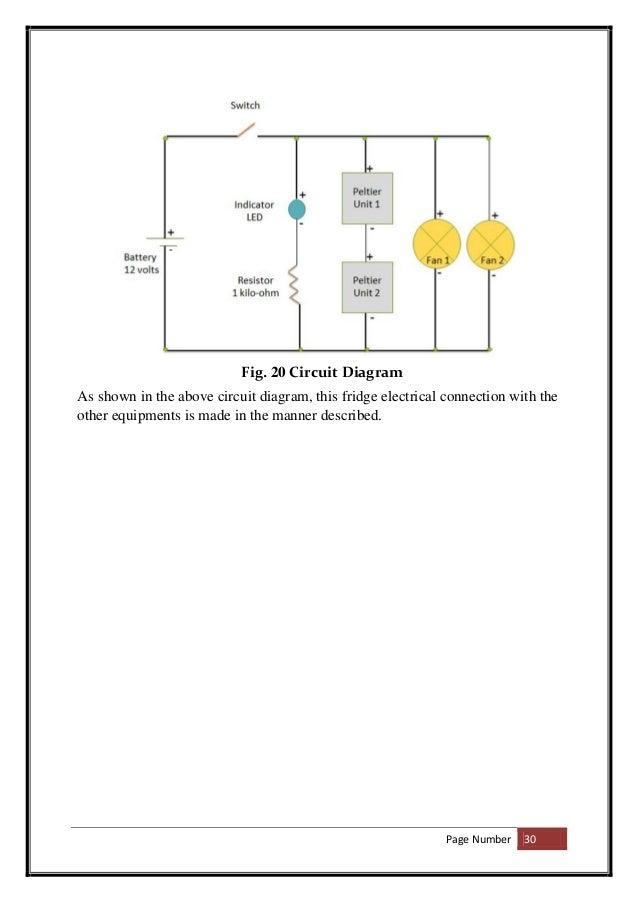 circuit diagram of mini refrigerator  circuit diagram symbols •