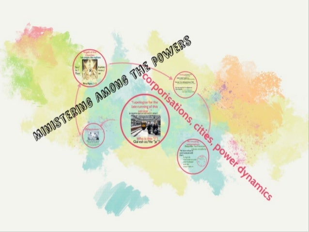Ministering Among the Powers: Corporisations, Cities, and the Dynamics of Power