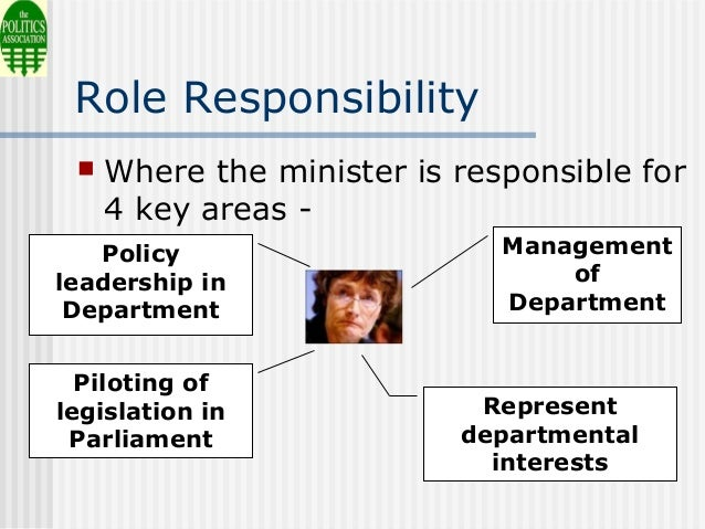 ministerial responsibility is the cornerstone 11 principles of cabinet the collective responsibility of ministers for government decisions adherence to these principles is the cornerstone of an.