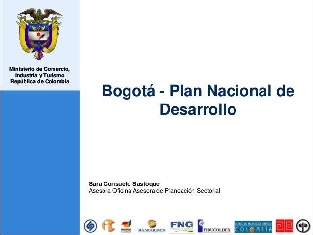 Ministerio de Comercio, Industria y Turismo República de Colombia Ministerio de Comercio, Industria y Turismo República de...