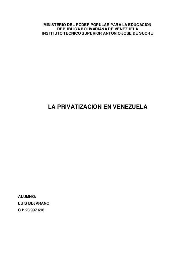 Ministerio del poder popular para la educacion for Educacion para poder