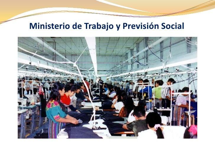 Ministerio de trabajo for Ministerio de trabajo