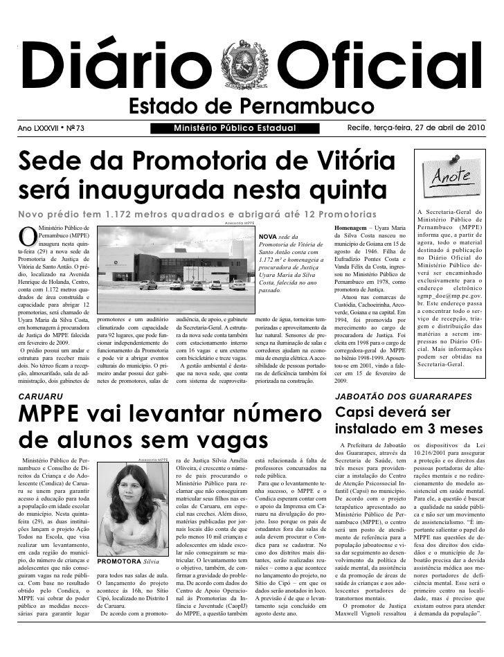 Ministerio Publico 27 04 2010