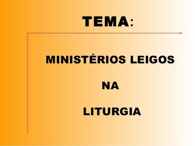Formação em Liturgia Slide 2