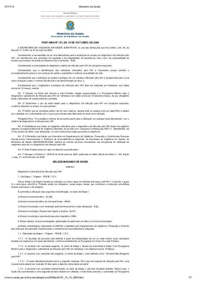 07/11/12                                                                      Ministério da Saúde                         ...
