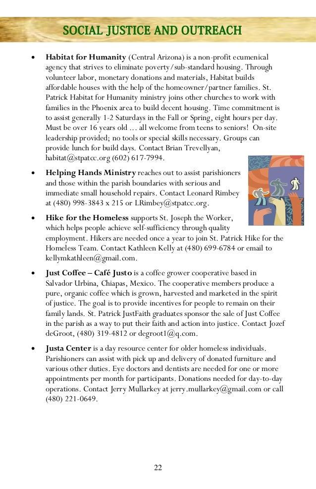St. Patrick Catholic Community Ministry Booklet - photo #40