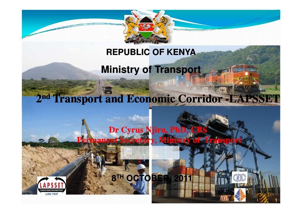 0              REPUBLIC OF KENYA             Ministry of Transport2nd Transport and Economic Corridor -LAPSSET            ...