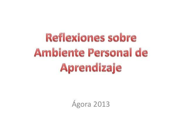 Ágora 2013