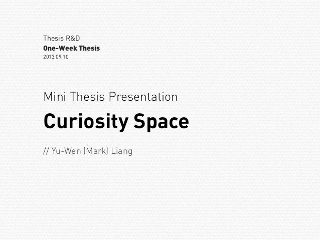 mini dissertation Guidelines for writing a thesis or dissertation contents: guidelines for writing a thesis or dissertation, linda childers hon, phd outline for empirical master.