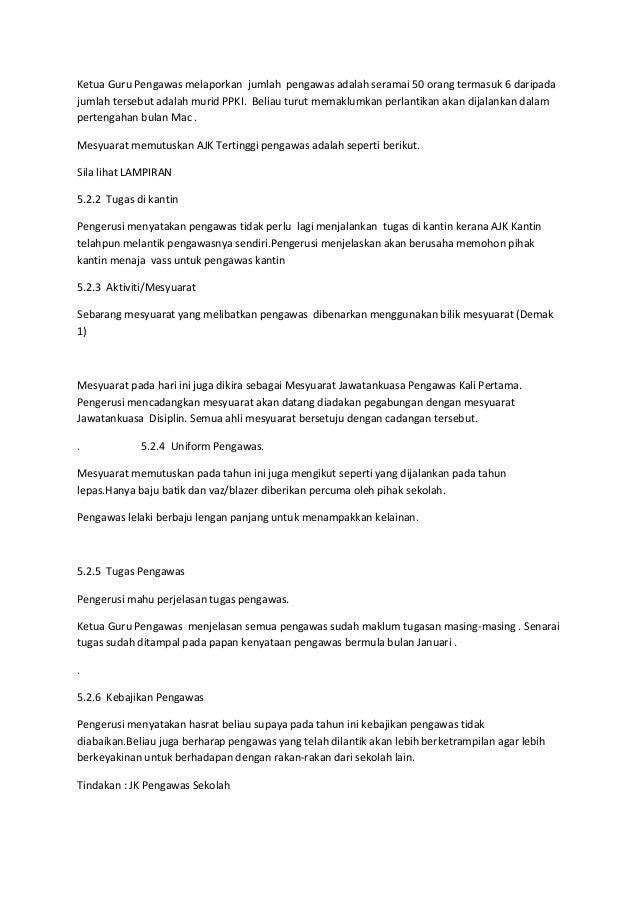 Minit Mesyuarat Disiplin Bil 1 2013