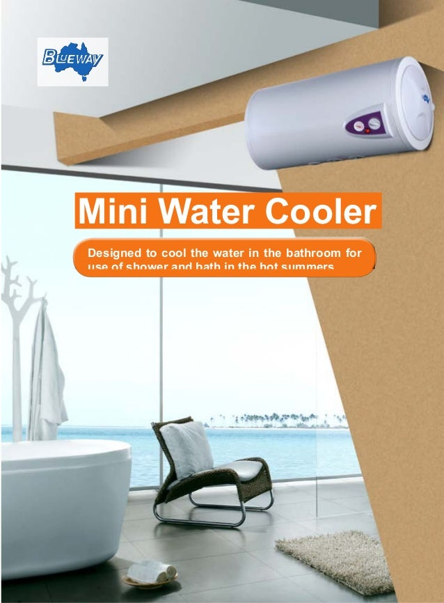 mini water cooler brochure