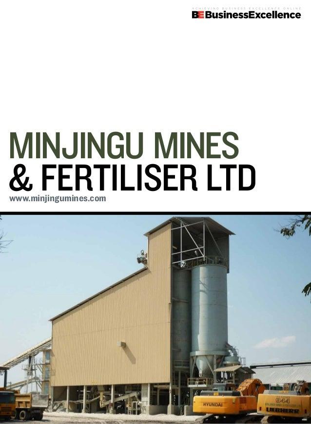Minjingu Mines& Fertiliser Ltdwww.minjingumines.com