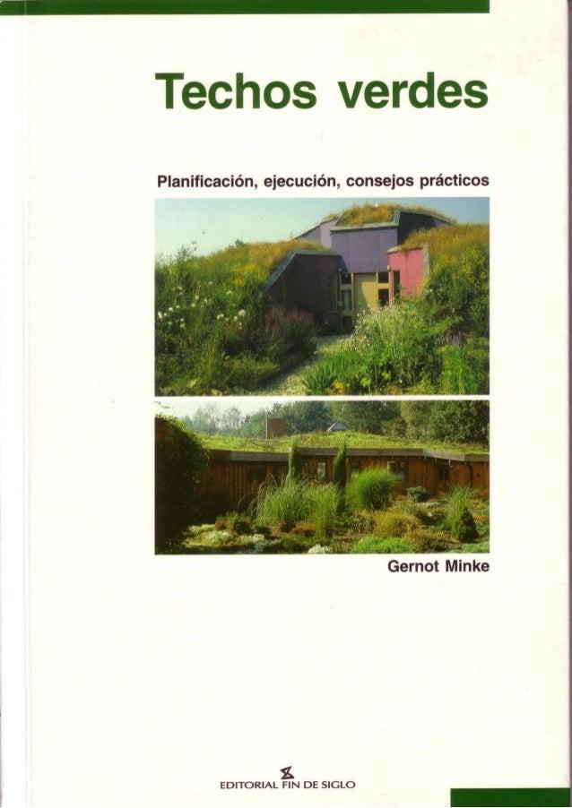 Telhados Verdes - Gernot Minke