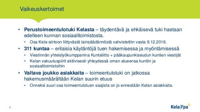 Kela sidosryhmätilaisuus 19.1.2017. Viestintäpäällikkö Minna Latvala:…