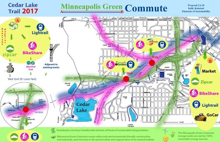 Minneapolis Green Commute (concept)