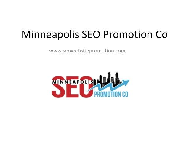 Minneapolis SEO Promotion Co www.seowebsitepromotion.com