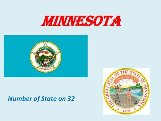 Minnesota  Number of State on 32