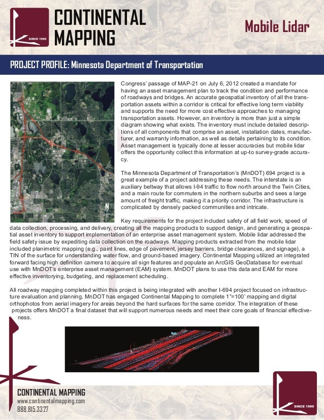 Minnesota Department Of Transportation Traffic Map.Asset Management And High Accuracy Mobile Lidar For Minnesota Dot