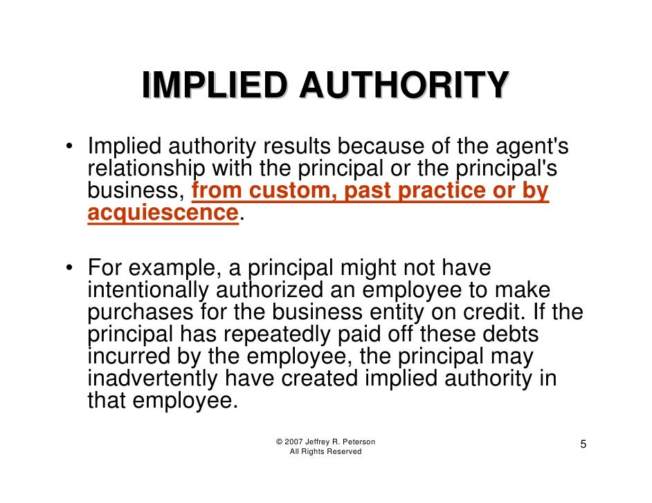 actual authority and apparent authority Related legal terms & definitions actual authority authority actually possessed, such as an authorized agent this is in contrast to apparent authority,.