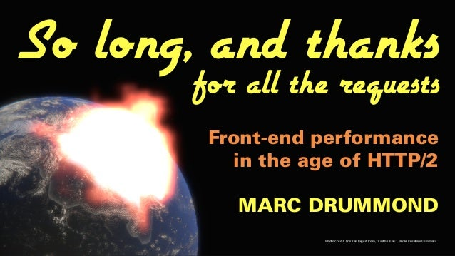 "MARC DRUMMOND Photo credit: kristian fagerström, ""Earth's End"", Flickr Creative Commons So long, and thanks