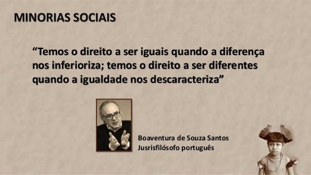 Minorias Sociais