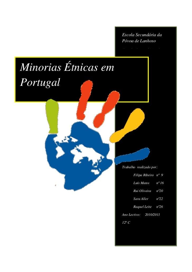 Minorias étnico religiosas na Península Ibérica A