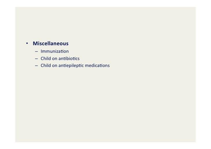 Minor Illnesses Amp Common Pediatric Procedures