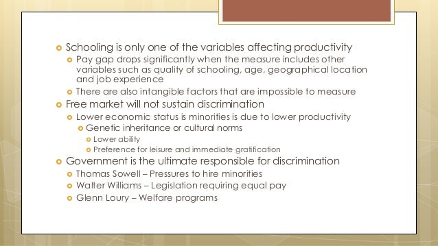 political economy of discrimination Start studying sociology learn vocabulary, terms, and more with flashcards, games well institutionalized patterns of discrimination that cut across major political economic and social organizations in society is called.