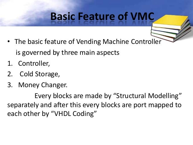 Vending Machine Controller Using Vhdl