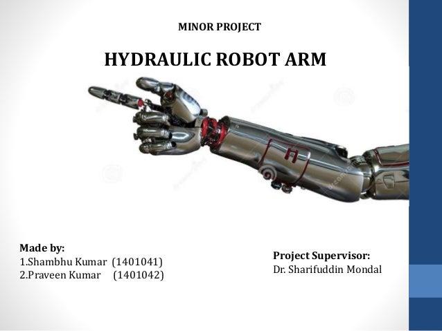 Hydraulic Based Robotic Arm
