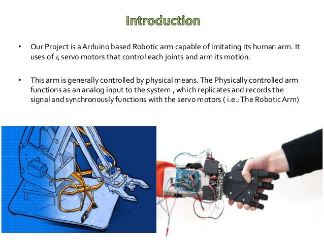 Motion emitting Arduino based Robotic Arm