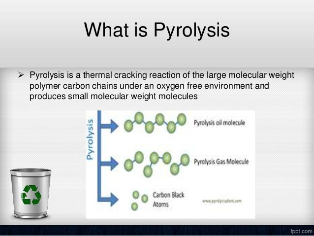 Crude Oil Generation through Pyrolysis of Plastic