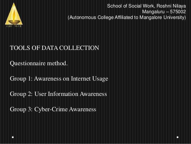 Minor research presentation