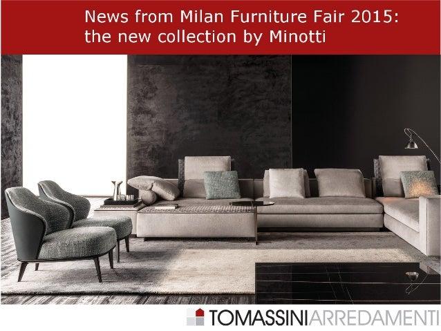 minotti italian furniture. At The 2015 Edition Of Salone Del Mobile In Milan, Italian Furniture Brand Minotti