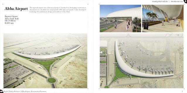 smin@gsd.harvard.edu   christinemin.com + min Rafael Viñoly Architects   Abha Airport, Construction Document The regional ...