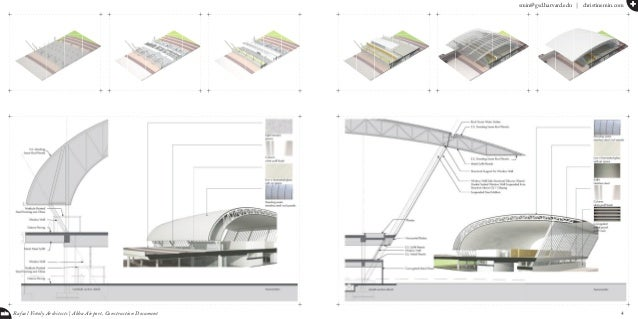 smin@gsd.harvard.edu   christinemin.com + min Rafael Viñoly Architects   Abha Airport, Construction Document 4