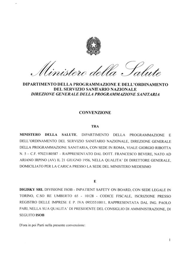 DIPARTIMENTO DELLA PROG RAMMAZIONE E DELL'ORDINAMENTO DEL SERVIZIO SANIFARIO NAZIONALE DIREZIONE GENERALE DELLA PROGRAMMAZ...