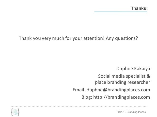 Sample Letter Of Recommendation For School Administrator: Best Practices In Social Media For Place Branding