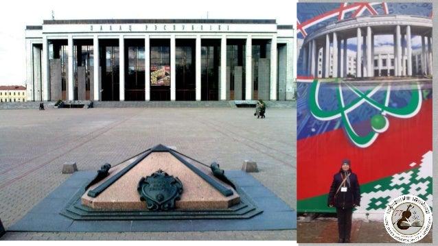 Аўтар скульптурнага ансамбля каля Беларускага дзяржаўнага цырка (2011 г.)