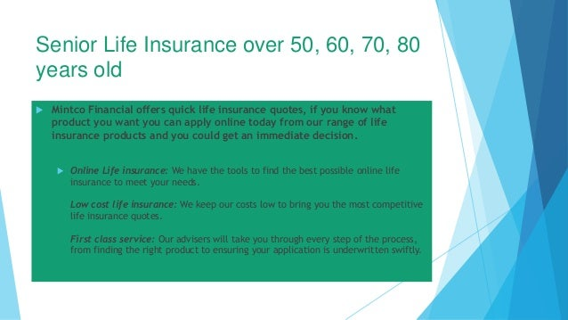 Senior Life Insurance Quotes Online Interesting Senior Life Insurance Over 50 60 70 80 Years Old