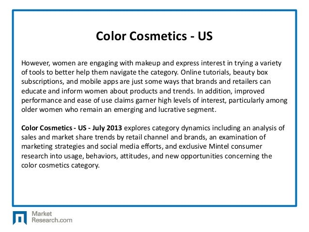 color cosmetics us july Follow us days until event  tagged color cosmetics, contract manufacturing, cosmoprof asia,  july 2015 january 2015 december 2014.