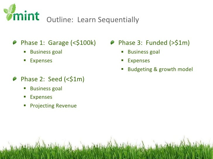 Mint Founder Institute Accounting Slide 2