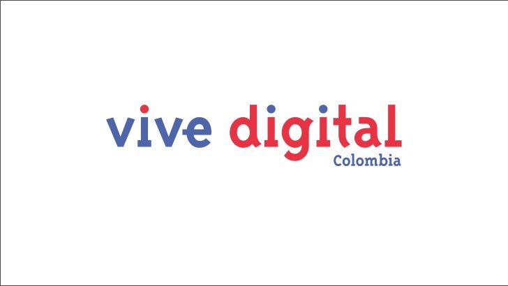 Vive Digital   Regional    Estudio