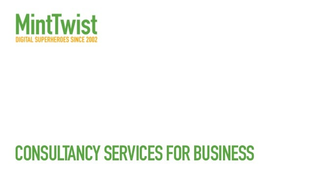 CONSULTANCYSERVICESFORBUSINESS