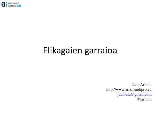 Elikagaien garraioa                                Juan Arbulu                http://www.arizmendipro.eu                  ...