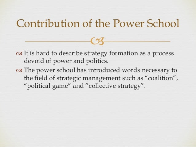Political Games in Organizations
