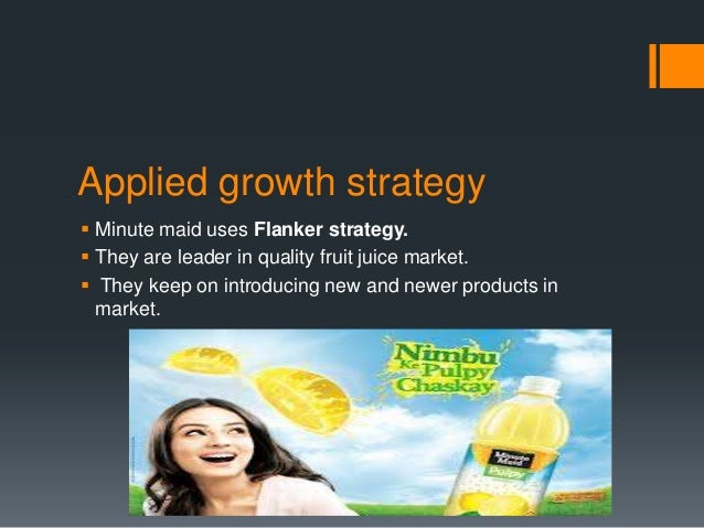 Sustained competitive advantages Minute maid pulpy has been successful in sustaining severalcompetitive advantages over c...