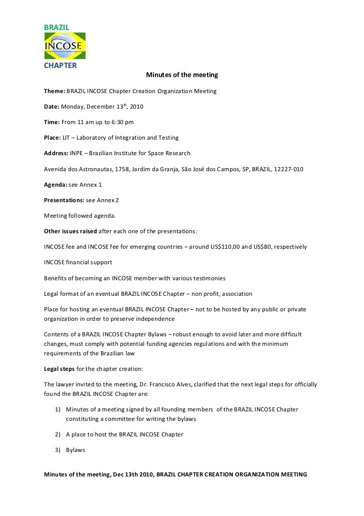 Sample cover letter for minutes of meeting image for Sample cover letter for minutes of meeting